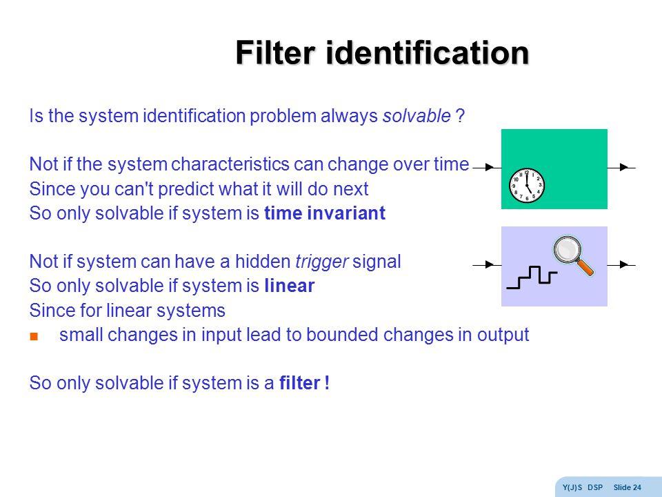 Filter identification
