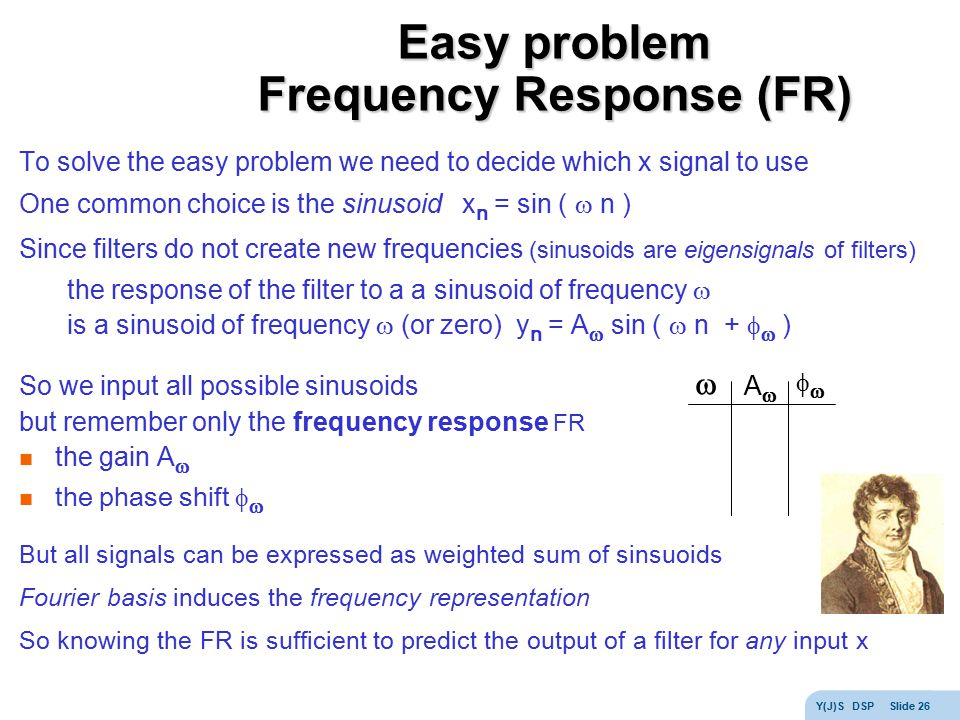 Easy problem Frequency Response (FR)