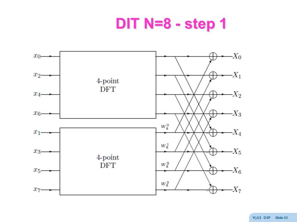 DIT N=8 - step 1