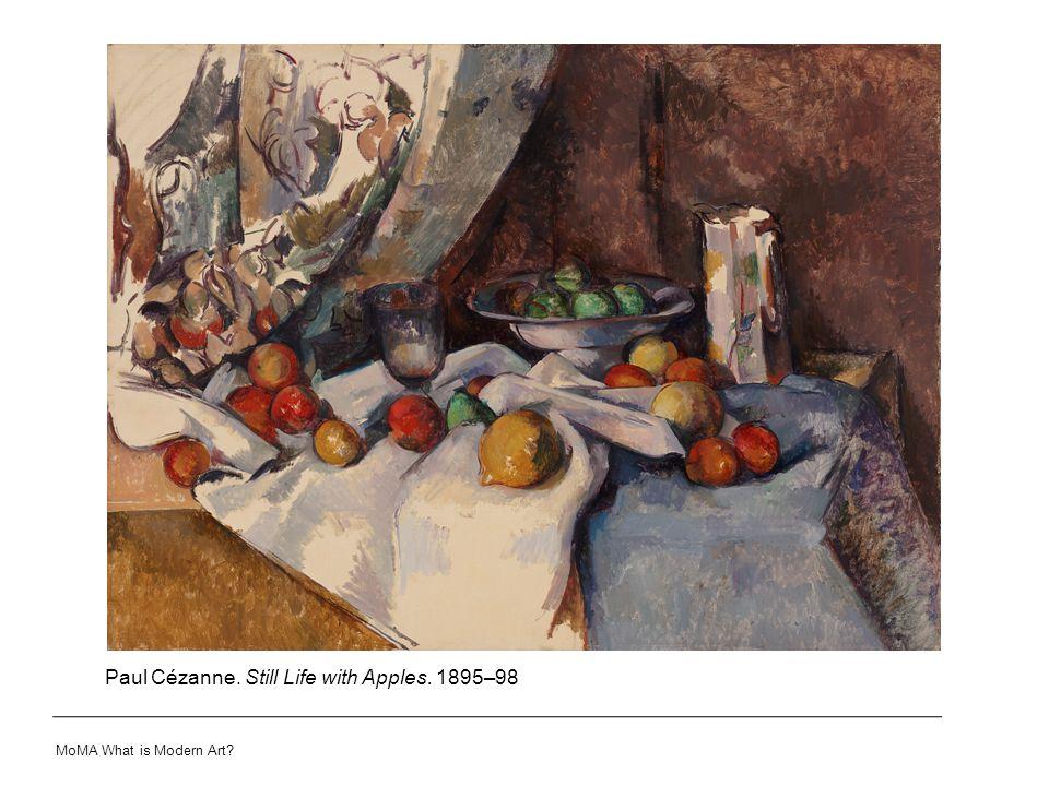 Paul Cézanne. Still Life with Apples. 1895–98