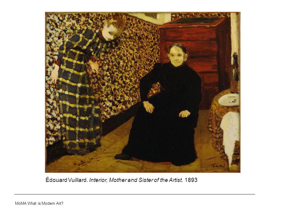 Édouard Vuillard. Interior, Mother and Sister of the Artist. 1893