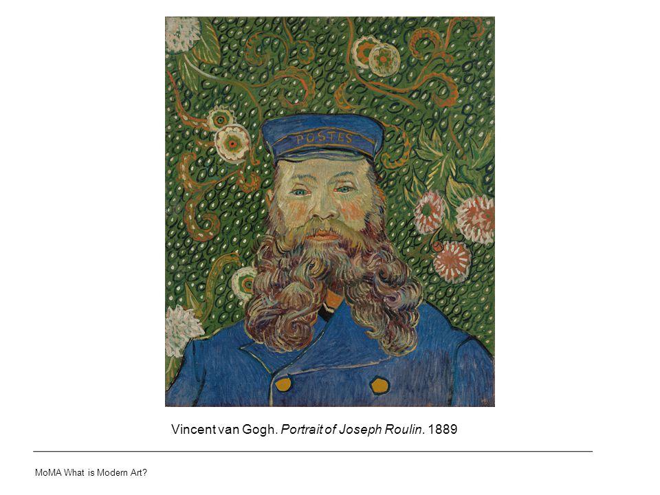 Vincent van Gogh. Portrait of Joseph Roulin. 1889