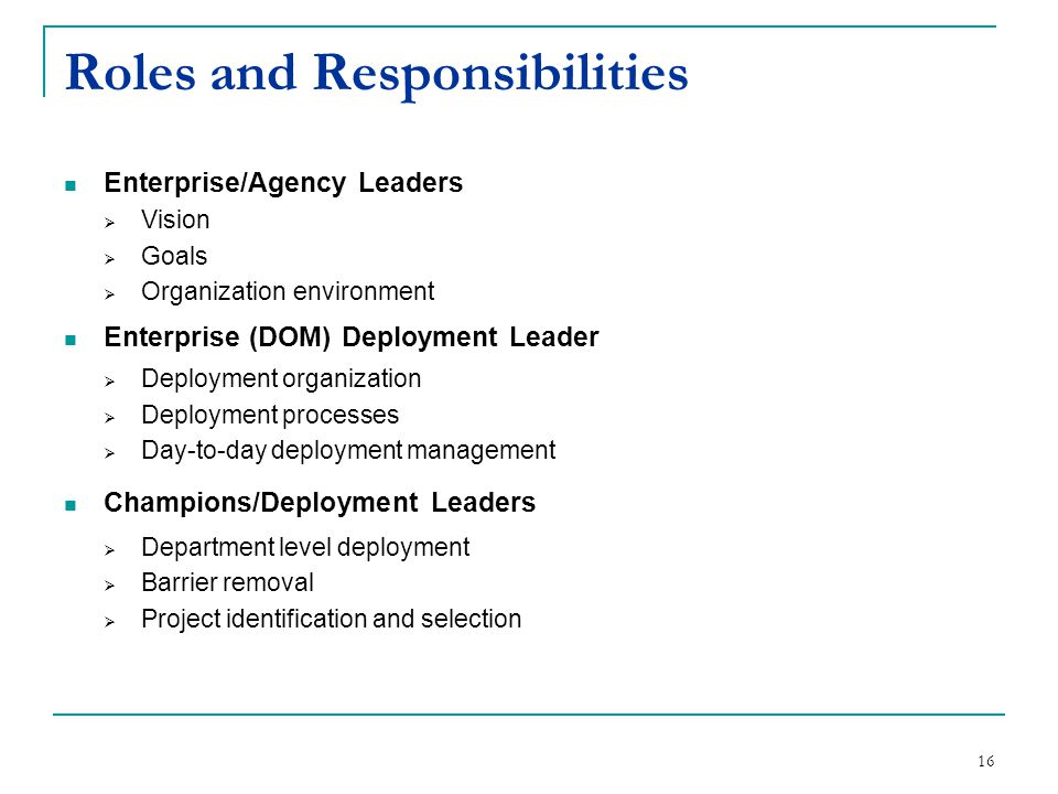 Iowa office of lean enterprise ppt download - Back office roles and responsibilities ...