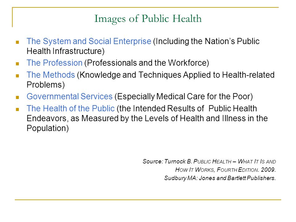 Images of Public Health