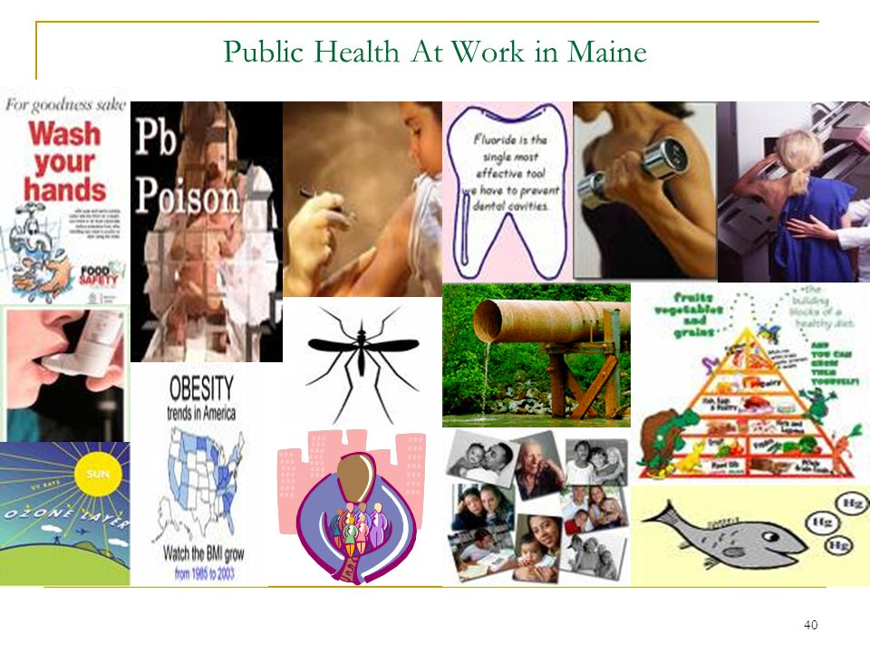 Public Health At Work in Maine