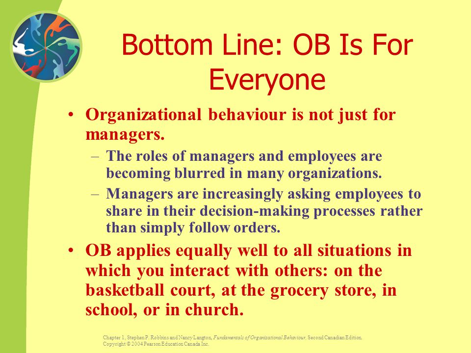 Bottom Line: OB Is For Everyone