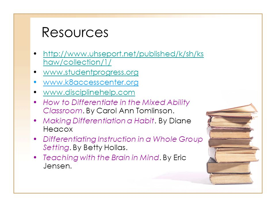 Resources http://www.uhseport.net/published/k/sh/kshaw/collection/1/