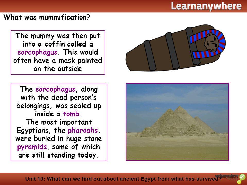 What was mummification
