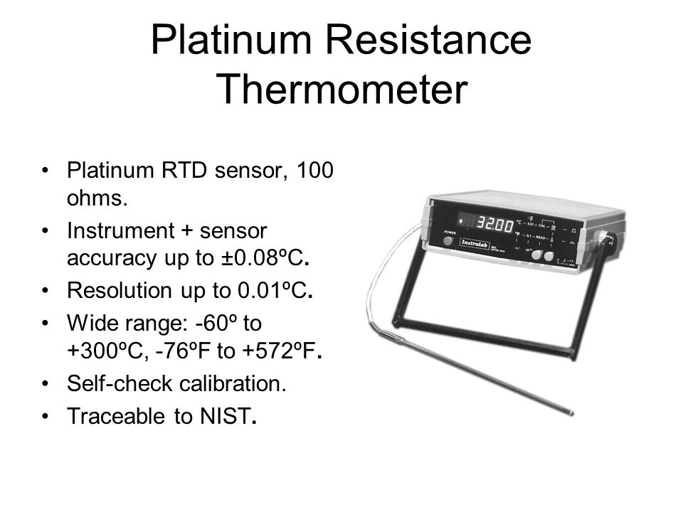 Platinum Resistance Thermometer