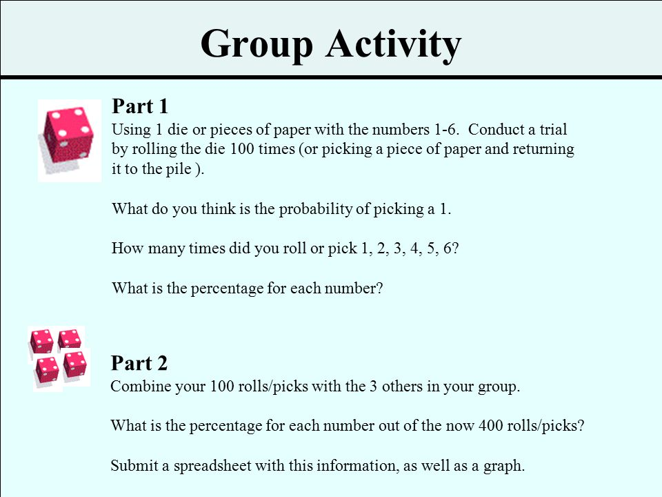 Group Activity Part 1 Part 2