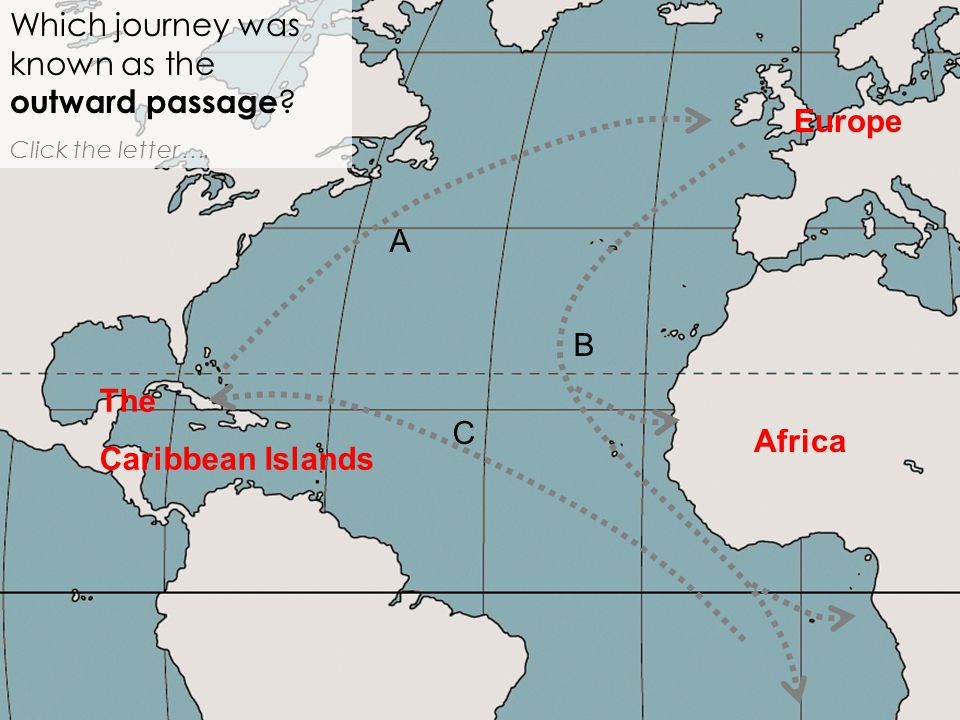 Which journey was known as the outward passage