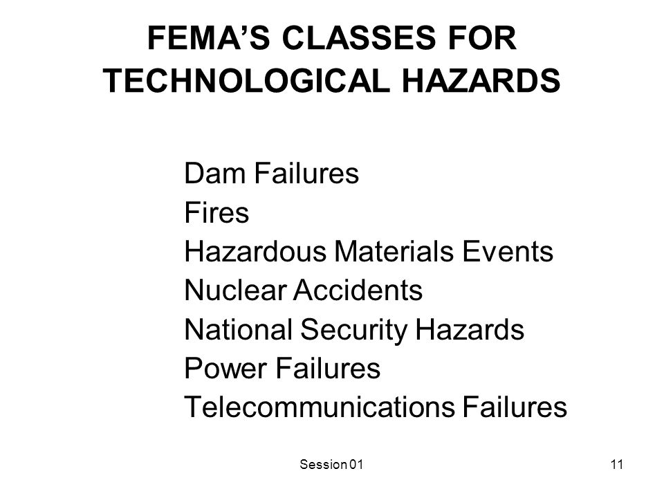 Causal Model of Technological Hazards