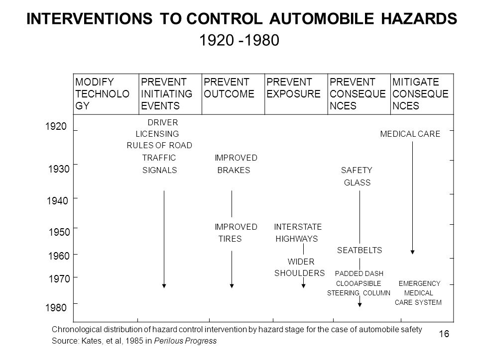 CHRONOLOGY OF HAZARD CONTROL FOR MINIMATA DISEASE