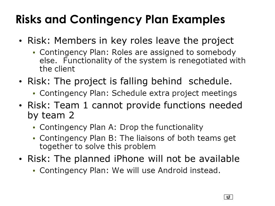 Contingency Plan Example Contingency Plan Templates For Bia Bcp Drp