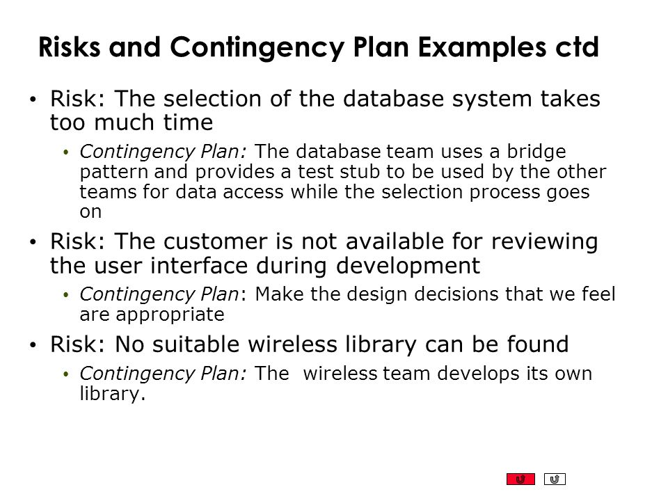 Configuration Build Management ppt download – Contingency Plan Examples