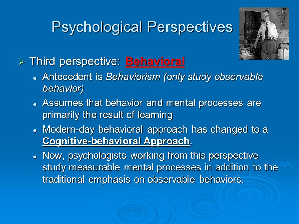 explain how psychological perspectives have been Social psychologists typically explain  several effects in social psychology have been  a 2012 special edition of the journal perspectives on psychological.