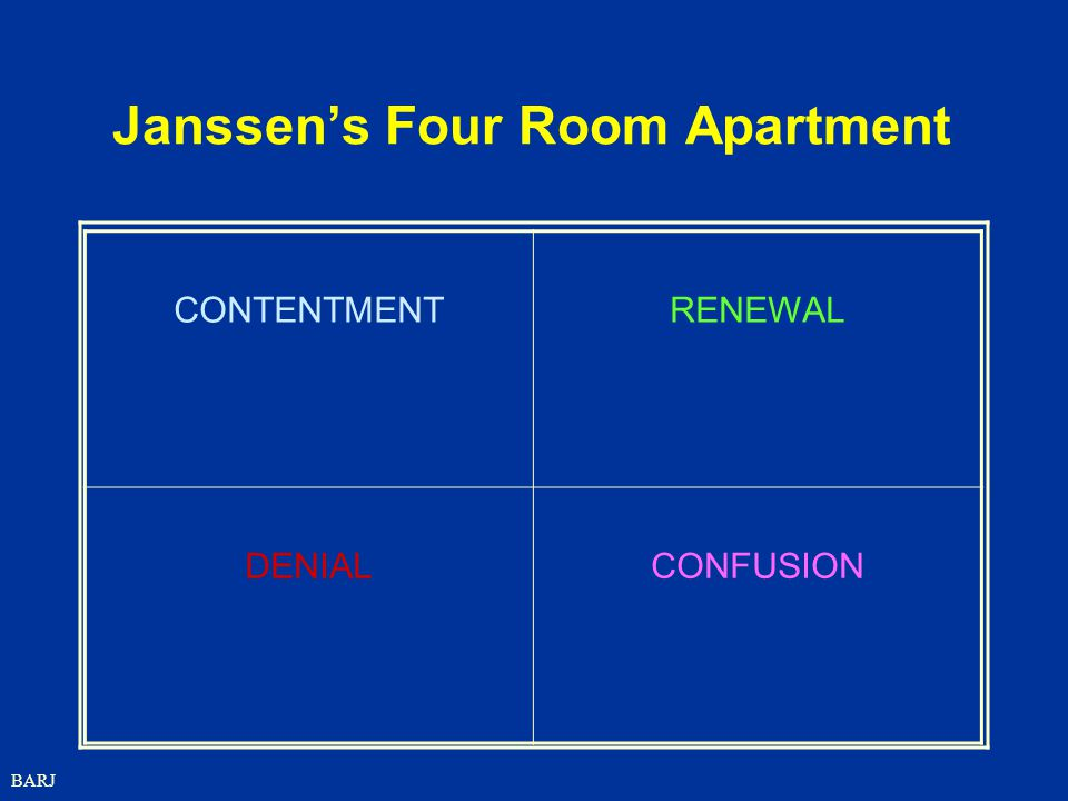 Janssen's Four Room Apartment