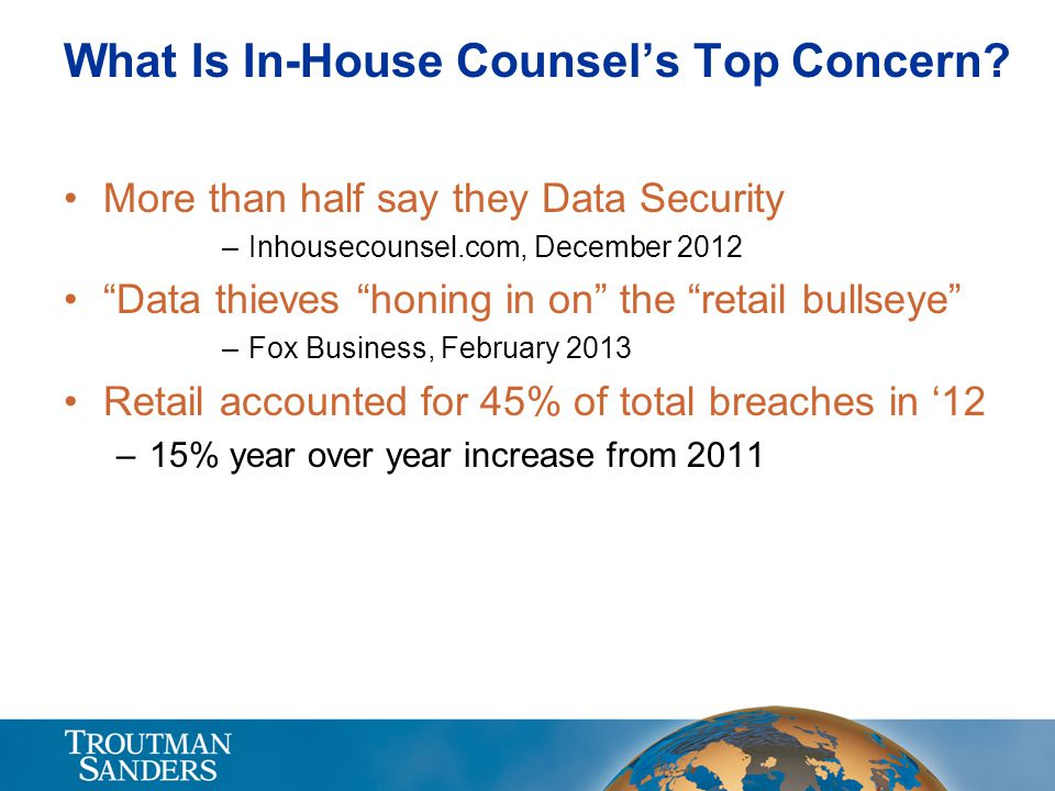 What Is In-House Counsel's Top Concern