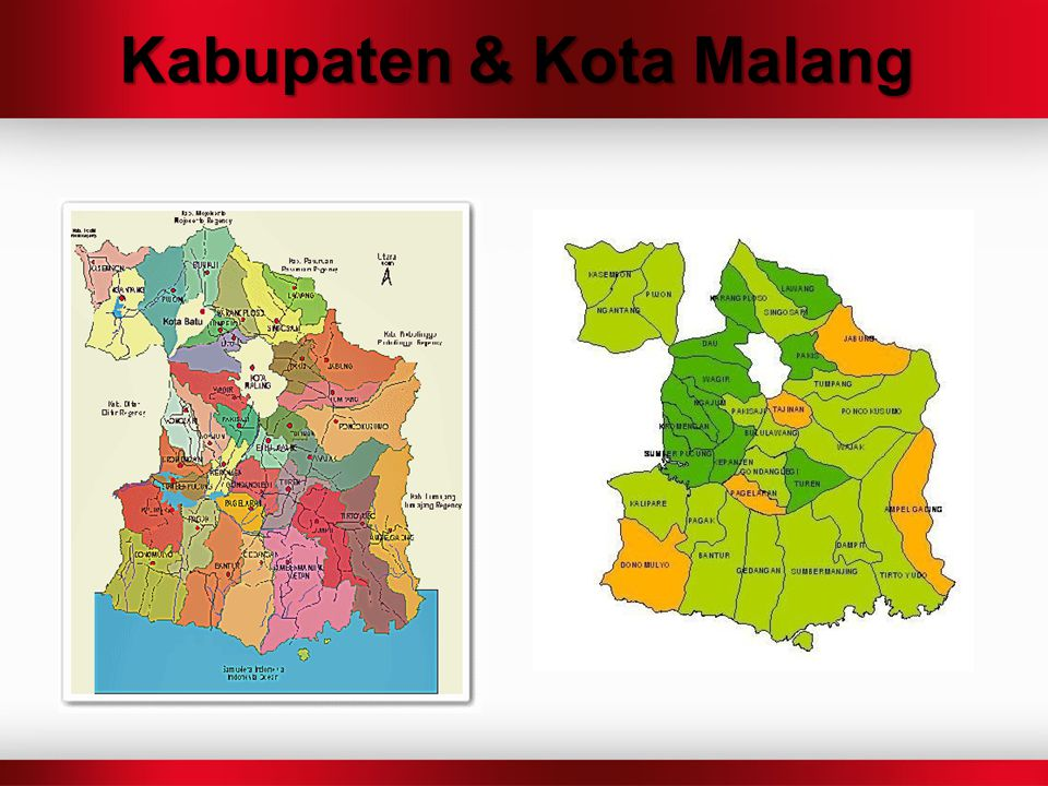 Kabupaten & Kota Malang