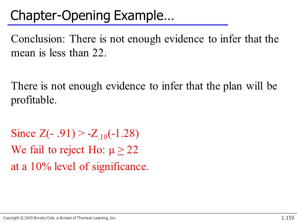 Chapter-Opening Example…