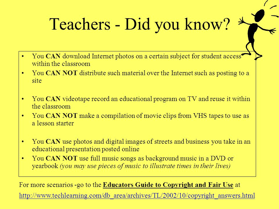 Teachers - Did you know You CAN download Internet photos on a certain subject for student access within the classroom.