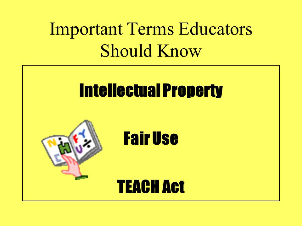 Important Terms Educators Should Know