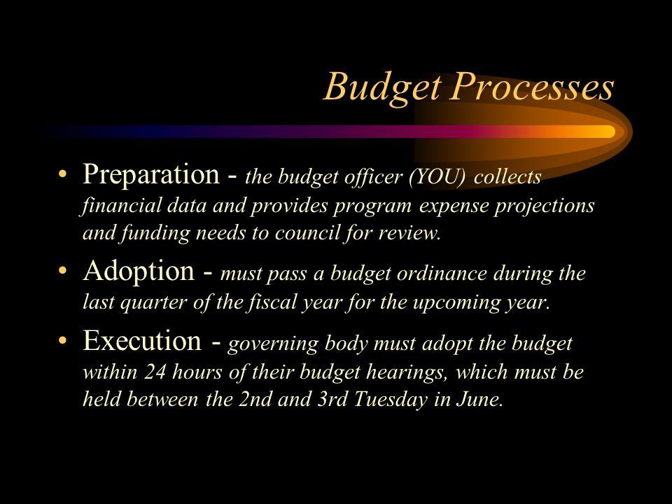Budget Processes
