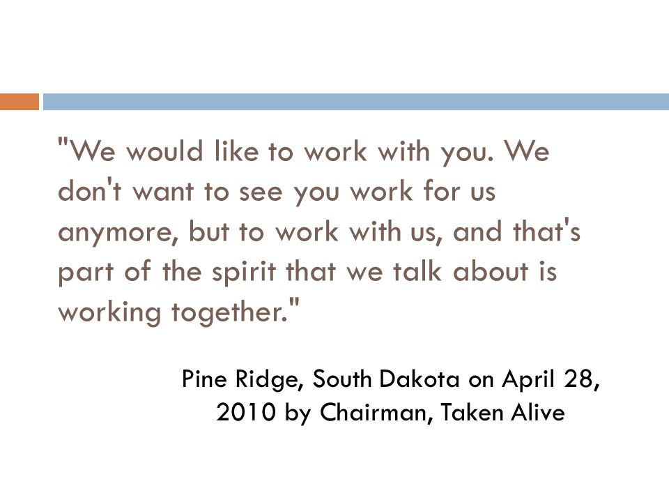 Pine Ridge, South Dakota on April 28, 2010 by Chairman, Taken Alive