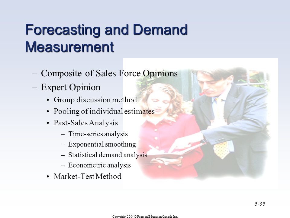 Forecasting and Demand Measurement