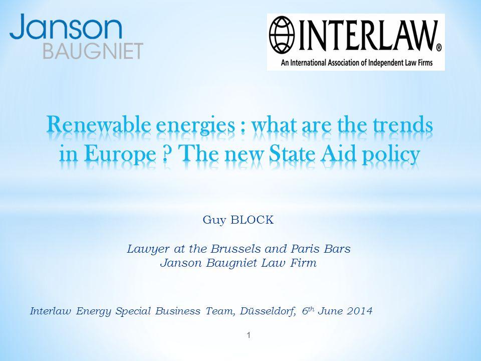 Interlaw Energy Special Business Team, Düsseldorf, 6th June 2014