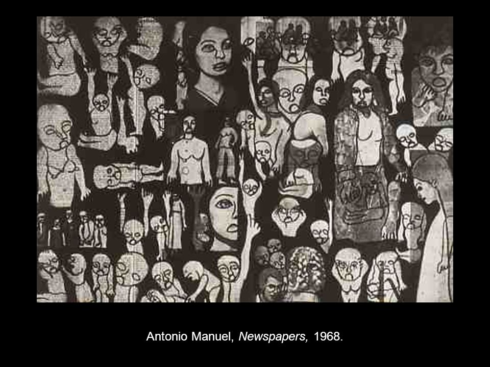 Antonio Manuel, Newspapers, 1968.