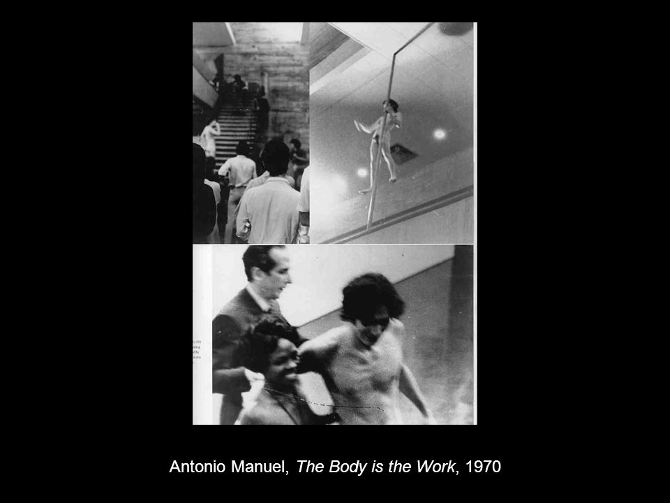 Antonio Manuel, The Body is the Work, 1970