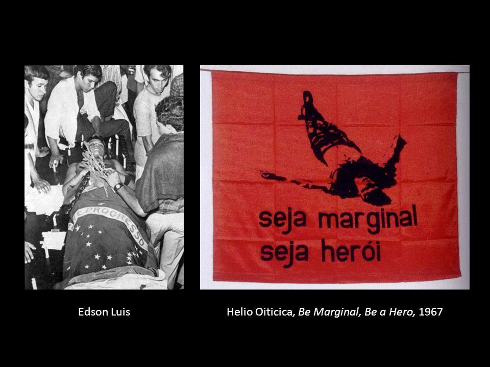 Helio Oiticica, Be Marginal, Be a Hero, 1967