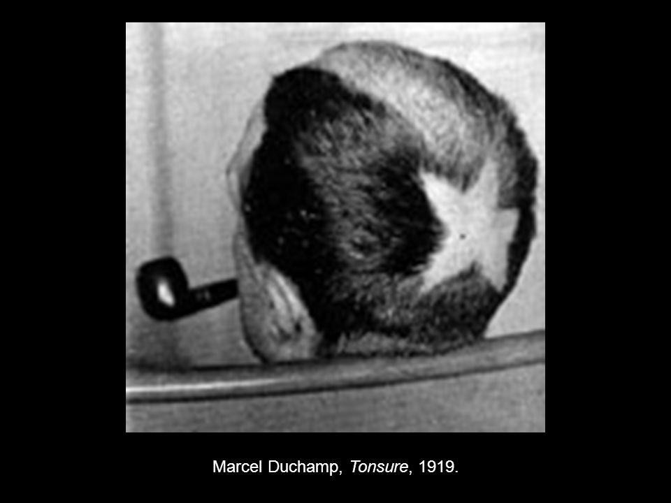 Marcel Duchamp, Tonsure, 1919.