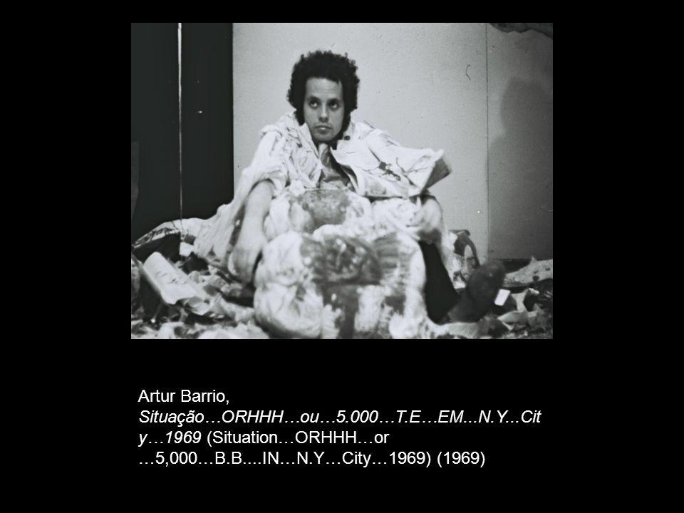 Artur Barrio, Situação…ORHHH…ou…5. 000…T. E…EM. N. Y