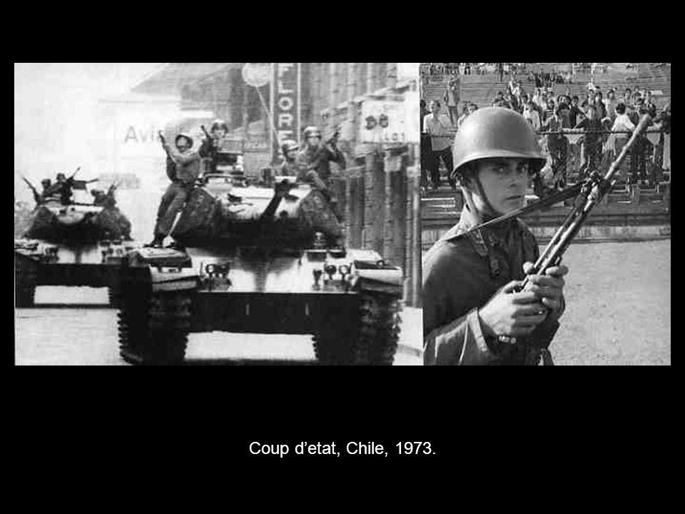 Coup d'etat, Chile, 1973.