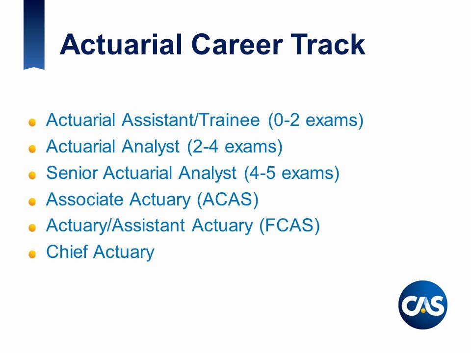 Actuarial Career Track