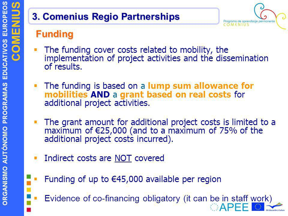 3. Comenius Regio Partnerships