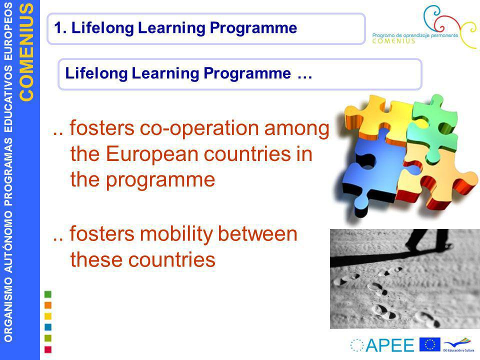 .. fosters co-operation among the European countries in the programme