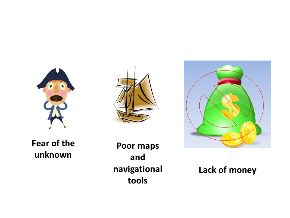 Poor maps and navigational tools