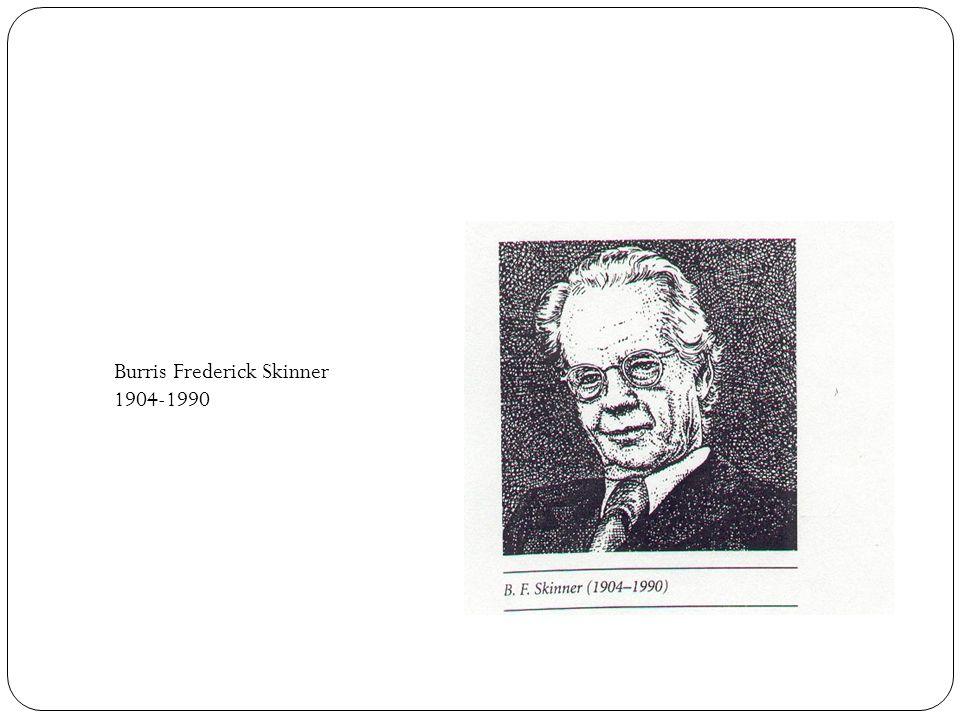 Burris Frederick Skinner