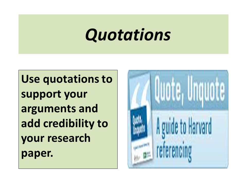 using quotations in research papers Let's talk about research participants  posted by chelsea lee at 12:05:33 pm in direct quotations, ethics, how-to, interviews, personal communications,.
