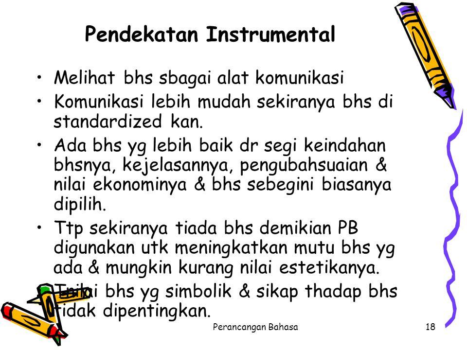 Pendekatan Instrumental