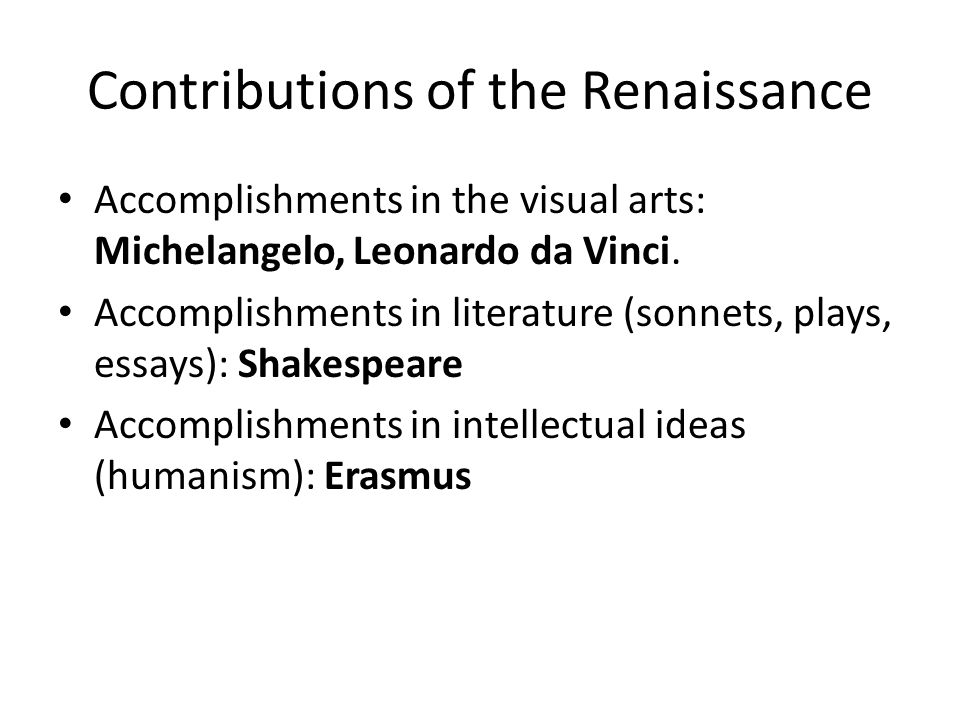renaissance art essay questions A history of the renaissance period history essay high renaissance art was if you are the original writer of this essay and no longer wish to have the.
