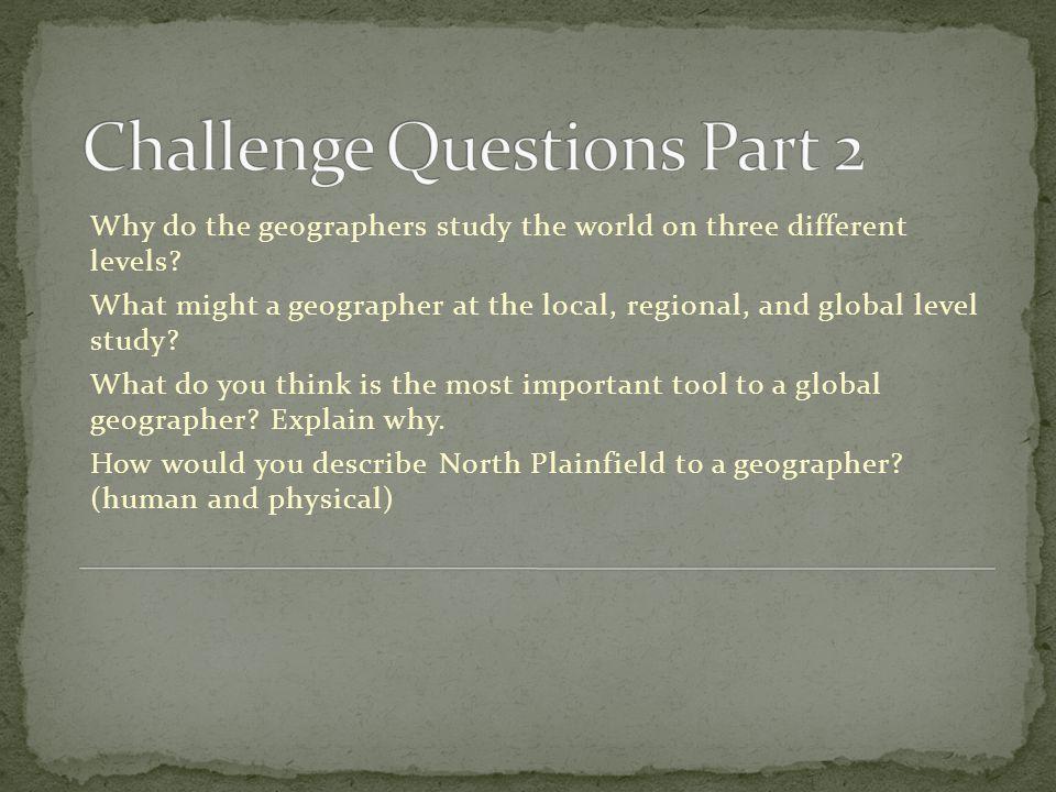 Challenge Questions Part 2