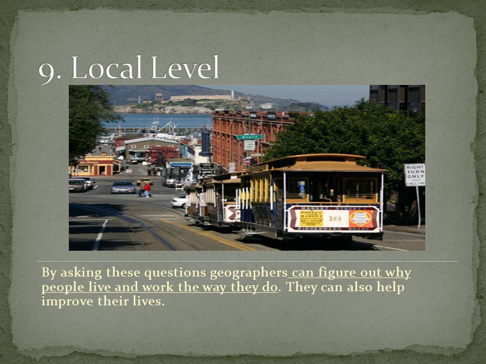 9. Local Level