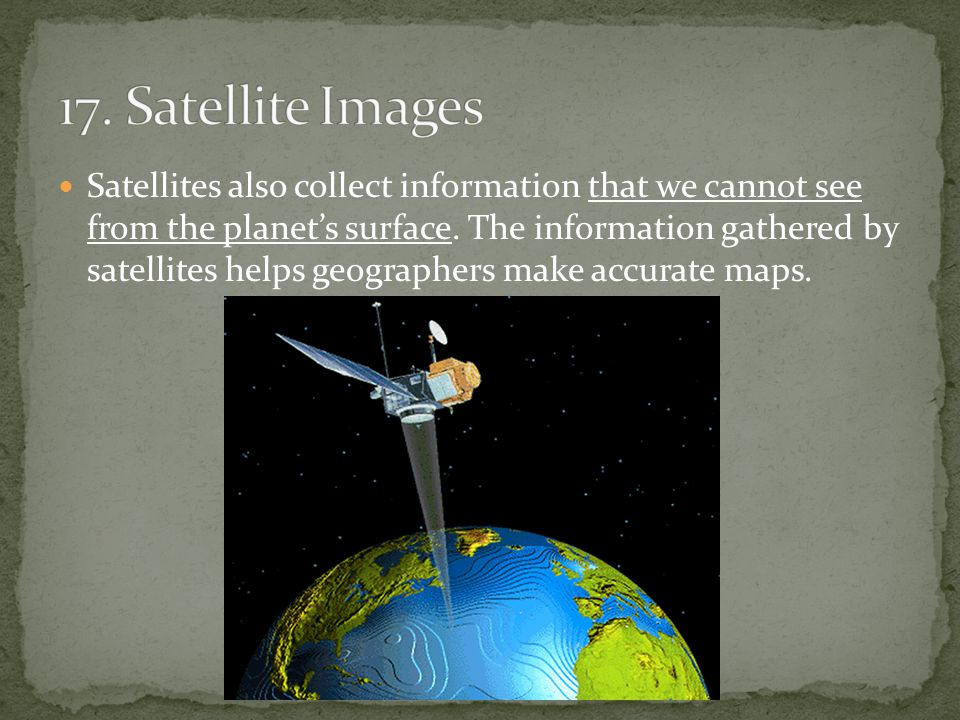 17. Satellite Images