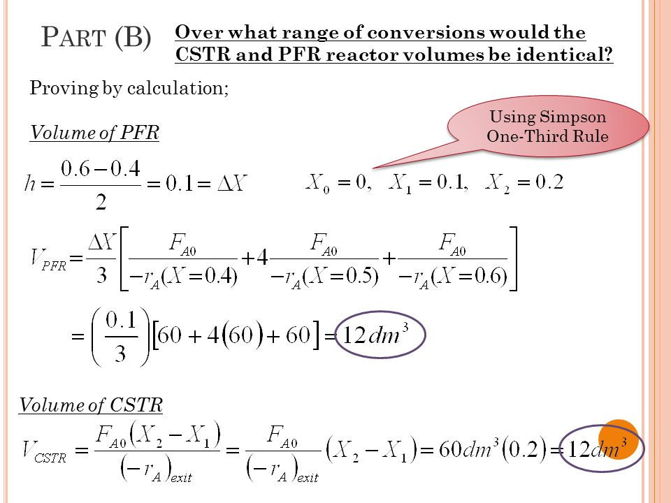 Using Simpson One-Third Rule