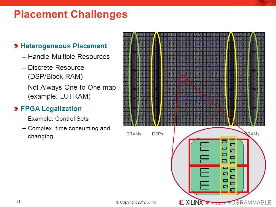 Placement Challenges Heterogeneous Placement Handle Multiple Resources