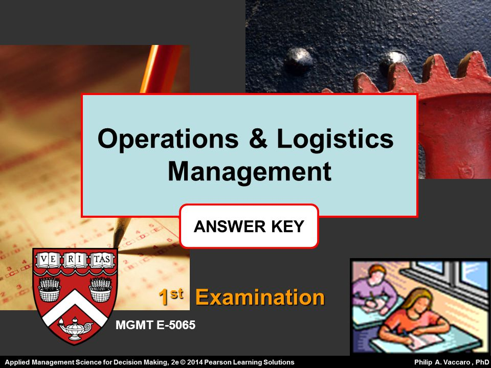 Operations & Logistics Management